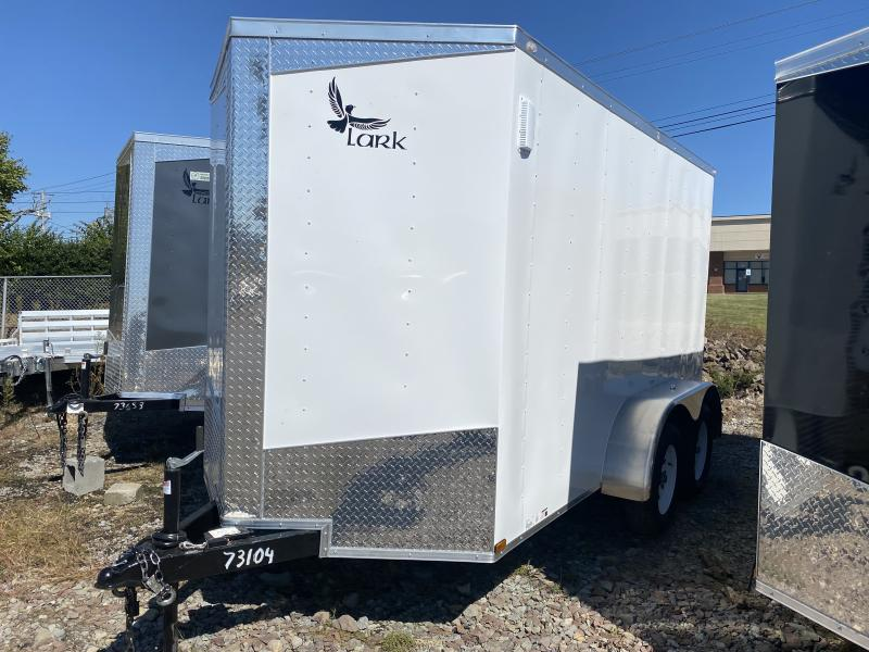 2021 Lark VT612TA 7000# GVWR Enclosed Cargo Trailer