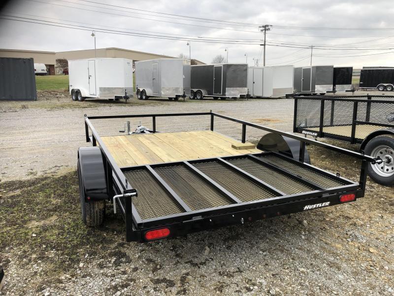"2020 Hustler U1078-15 Utility Trailer (6'6"" x 10)"