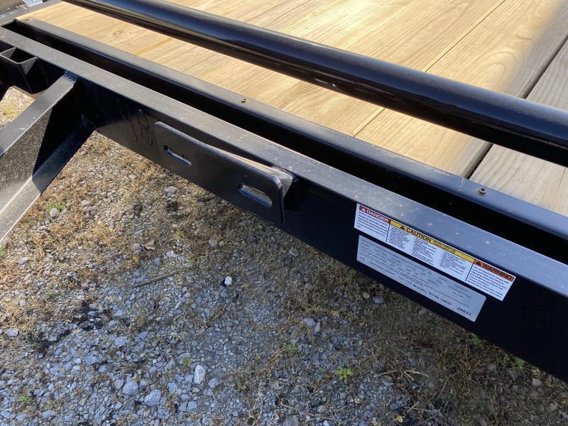 2021  (7 X 20) 14000# GVWR Currahee E720.14KD Equipment Trailer