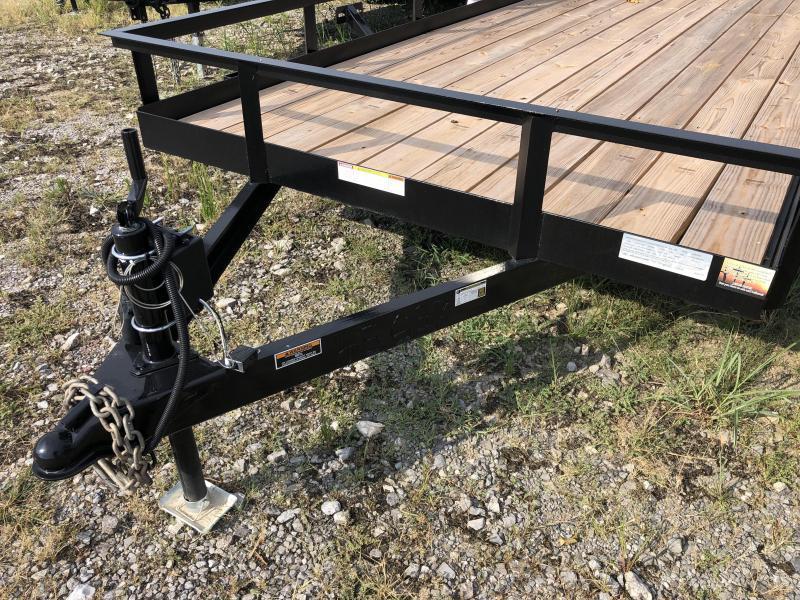 "2022 Currahee (6'4"" X 20) 7000# GVWR LD620 Utility Trailer"