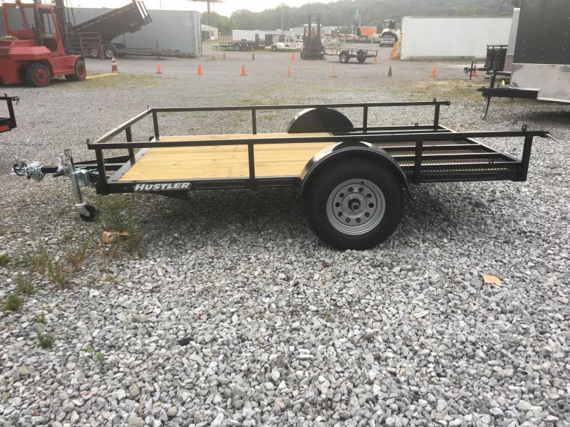 2021 Hustler U1072-15 Utility Trailer (6 x 10)