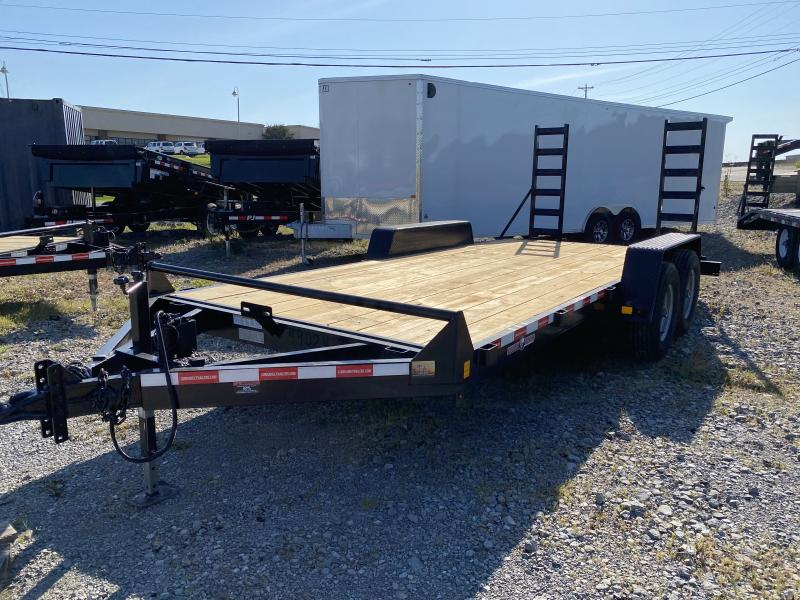 2021  (7 X 18) 12000# GVWR Currahee E718.12KD Equipment Trailer