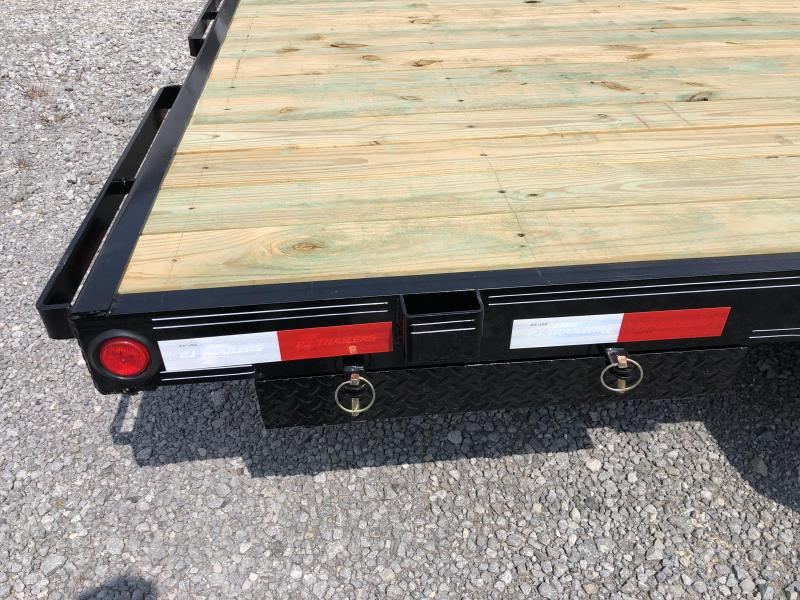 2020 PJ Trailers (7 x 18) 7000#GVWR Car / Racing Trailer