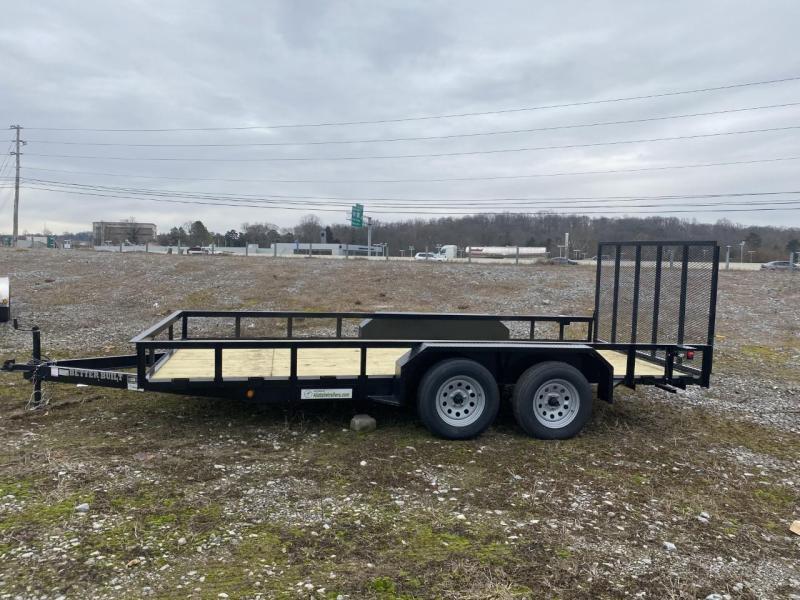 2021 Better Built 7 X 16Tandem Axle (BH1621FB-E) Utility Trailer