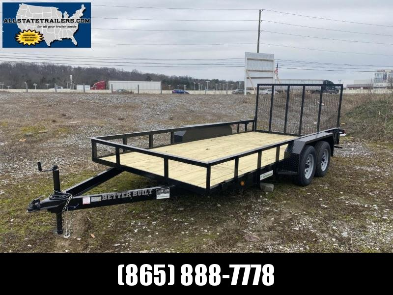 2021 Better Built 7 X 16Tandem Axle (BH1621FB-E) Utility Trailer