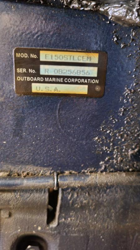 1989 Evinrude E150stlemc Outboard Motors