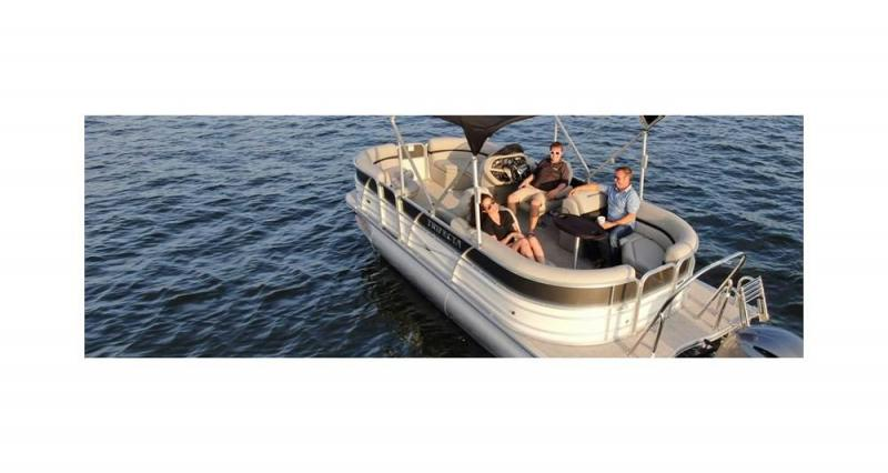 2021 Trifecta C Series 17C Pontoon Boat