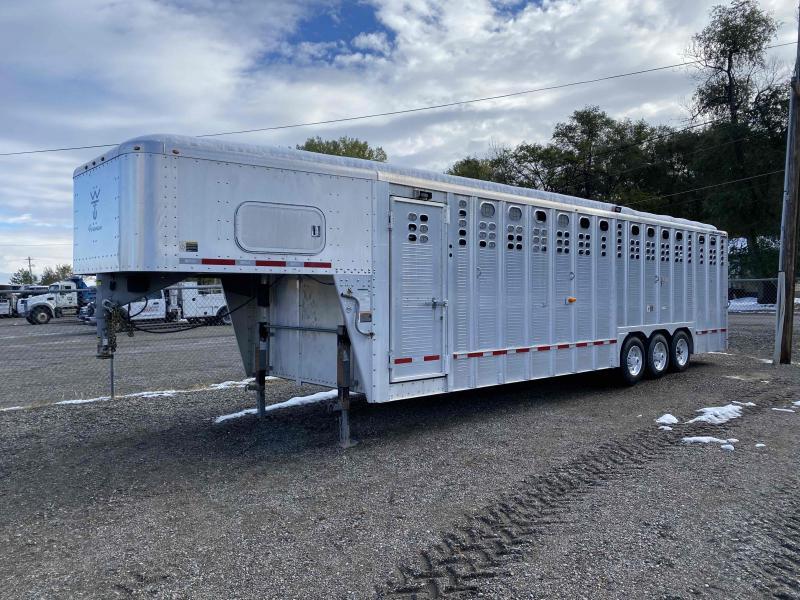 2012 Wilson 30' Stock Triple Axle Livestock Trailer