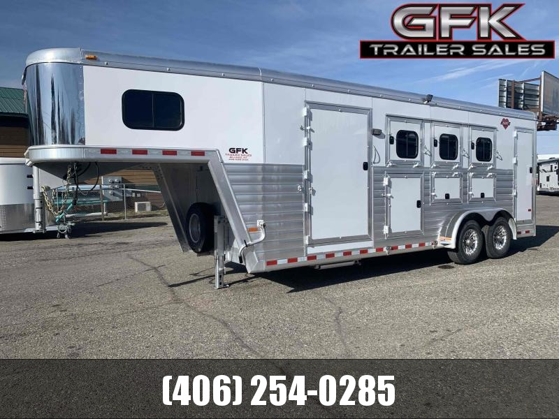 2019 Hart Trailers Tradition 3 Horse Horse Trailer
