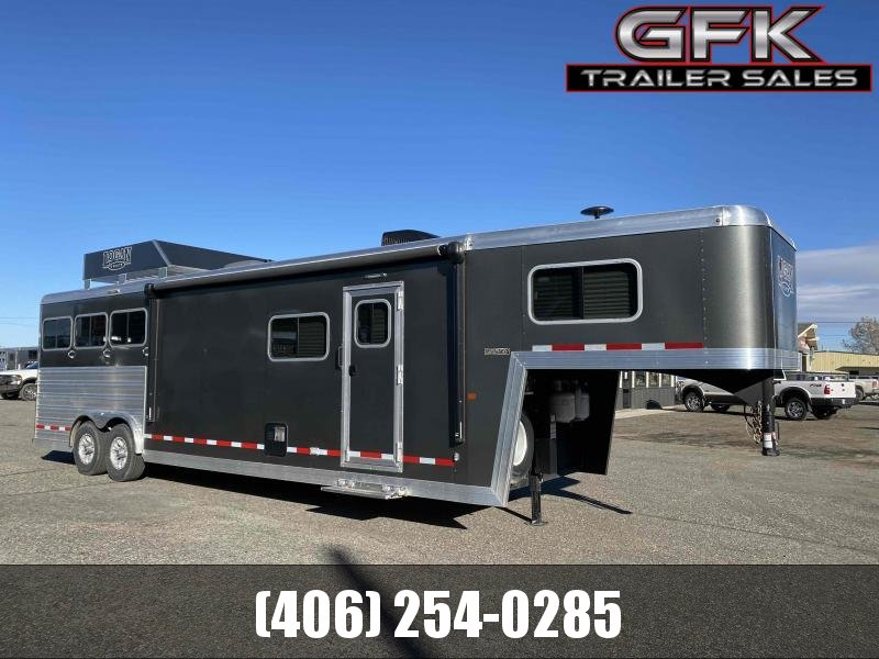 2019 Logan Coach Limited 812 3 Horse Trailer