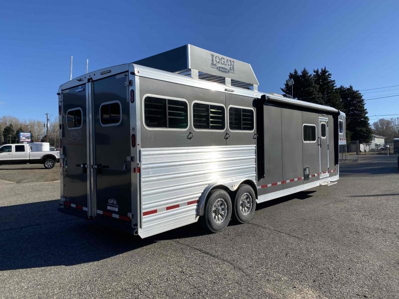 2019 Logan Coach Limited 812 3 Horse Trailer