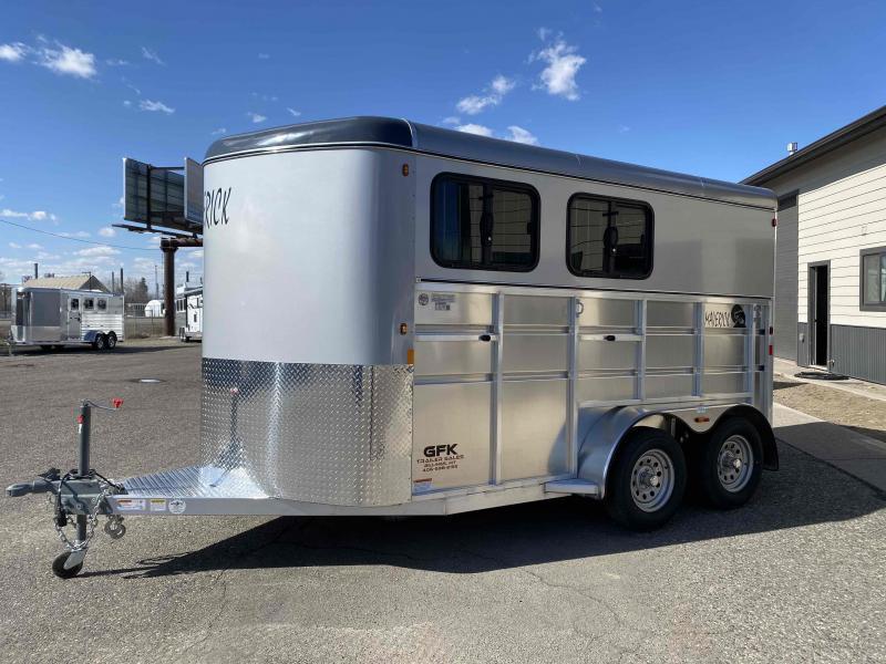 2021 Maverick Lite Deluxe 2 Horse Bumper Pull Horse Trailer