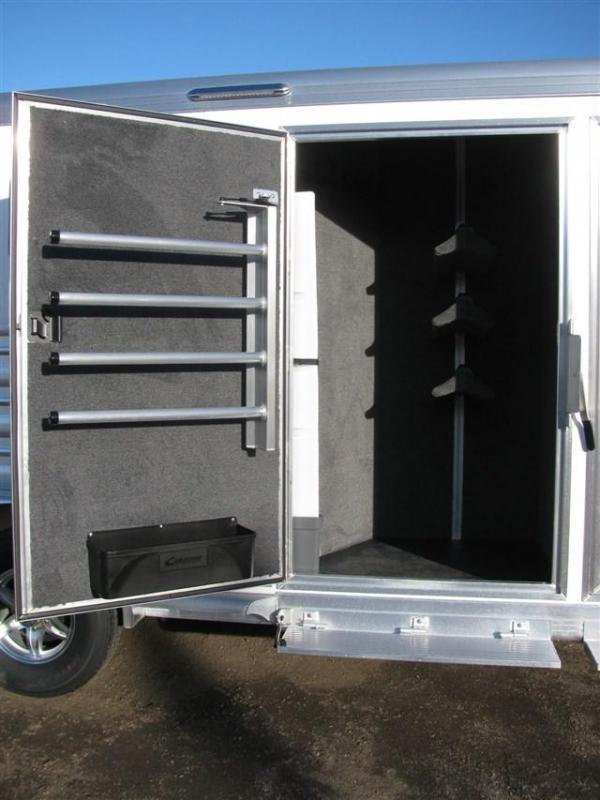 2020 Cimarron Norstar 3 Horse Gooseneck w/ Closet Tack