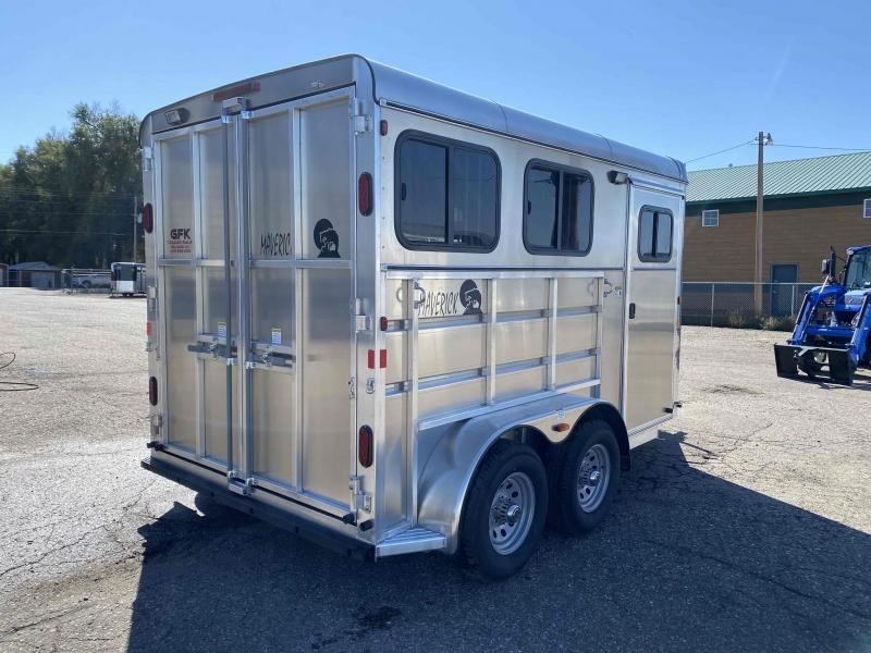 2022 Maverick Lite Deluxe 2 Horse Bumper Pull Horse Trailer