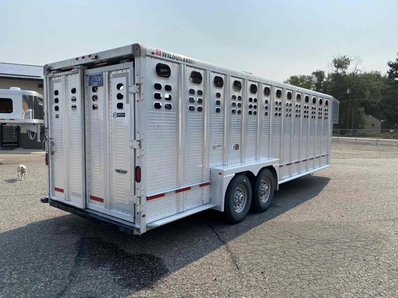 2015 Wilson 24' Livestock Trailer