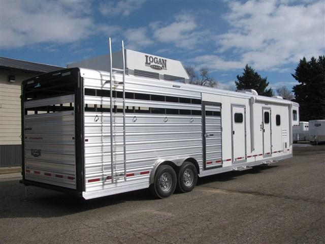 2020 Logan Select 13' LQ Stock Combo with Slide Out w/ Dual Mid Tack Doors