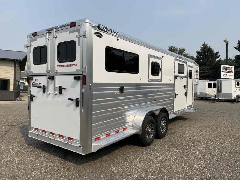 2022 Cimarron  2+1 Norstar Warmblood Horse Trailer