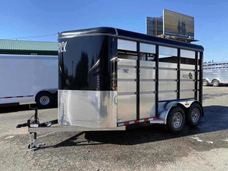 2022 Maverick 14' 2 Horse Bumper Pull