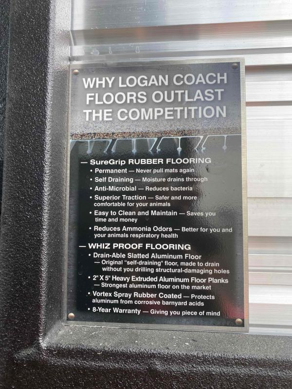 2020 Logan 22' Stock Combo w/ Dual Man Doors