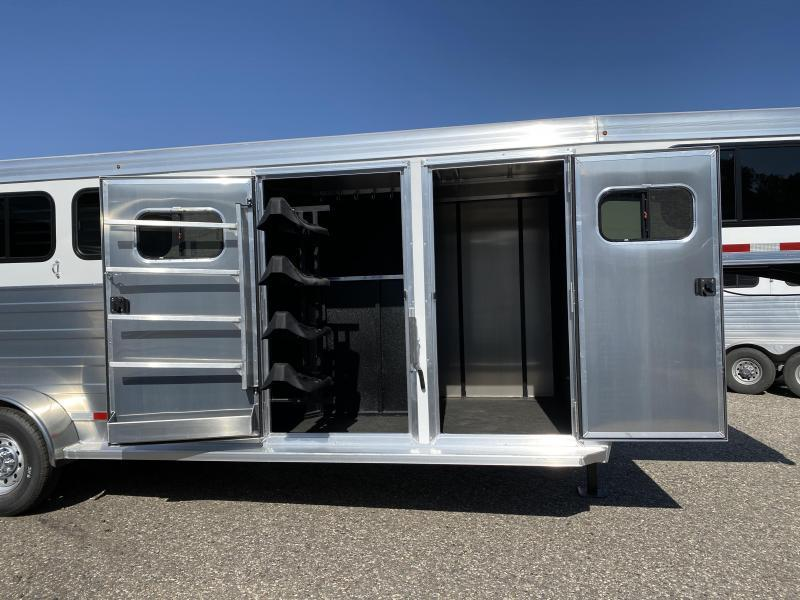 2022 Logan Bullseye 4 Horse Gooseneck w/ Closet Tack Package
