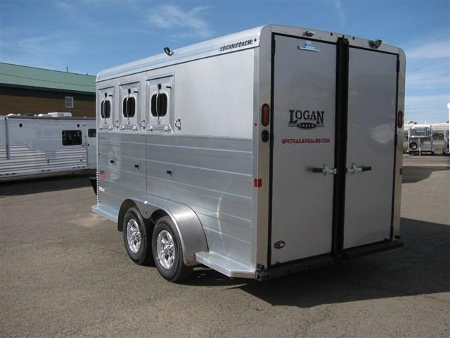 2022 Logan Bulls Eye 3 Horse Bumper Pull