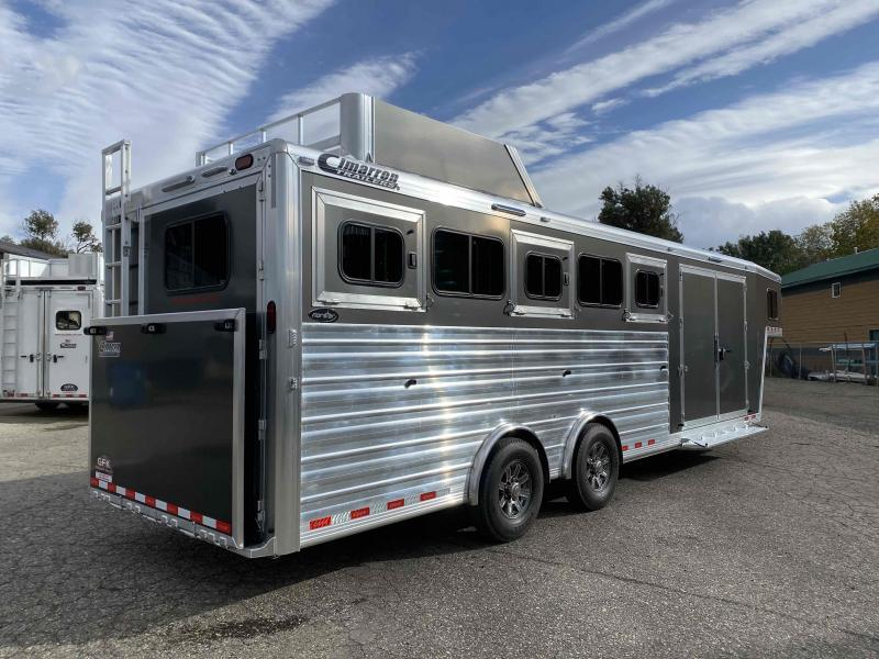 2022 Cimarron Norstar 5 Horse Trainer Tack with Spread Axle