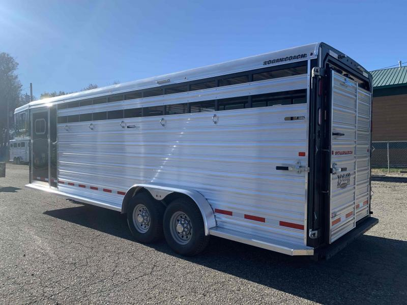 2020 Logan 24' Stock Combo with Dual Man Doors