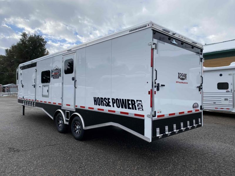 2021 Logan 31' Z-Broz Horse Power Gooseneck