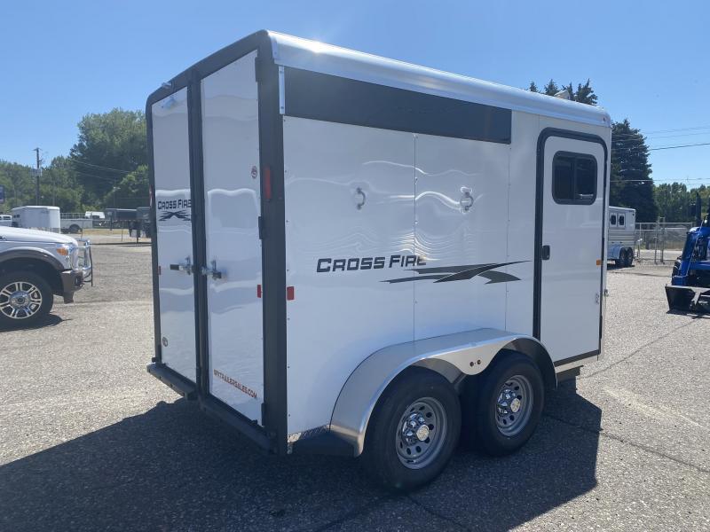 2020 Logan Cross Fire 2 Horse Bumper Pull Trailer