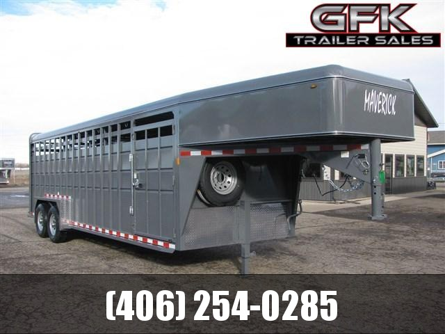 2020 Maverick 24' Heavy Duty Stock Combo Trailer