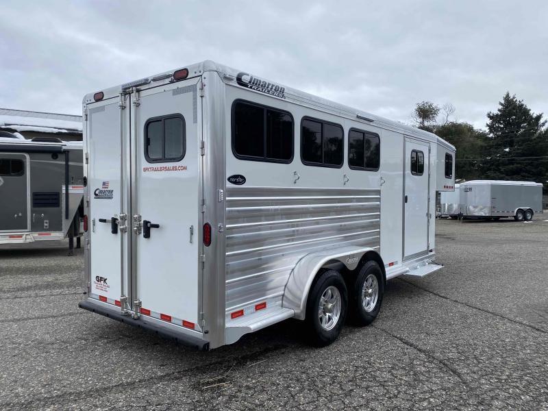 2021 Cimarron Norstar 3 Horse Gooseneck Trailer