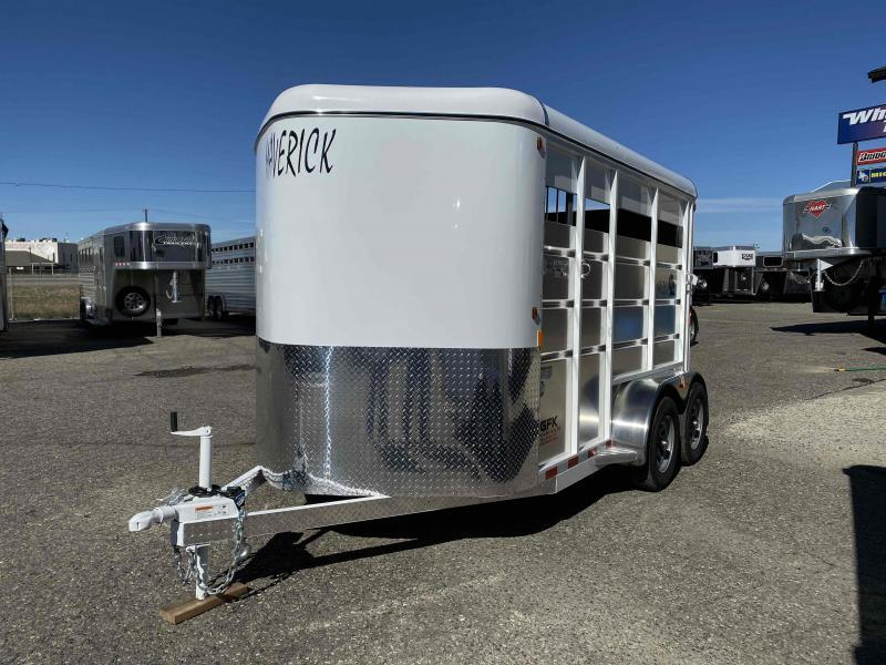 2021 Maverick 13' 2 Horse Slant Load Bumper Pull with Walk in Dressing Room