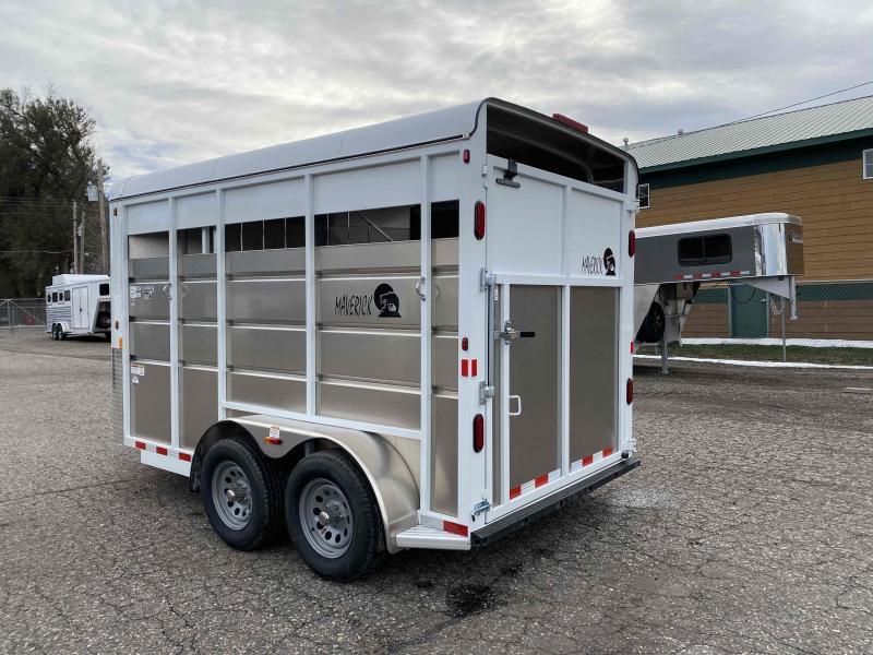 2021 Maverick 14' 2 Horse Bumper Pull