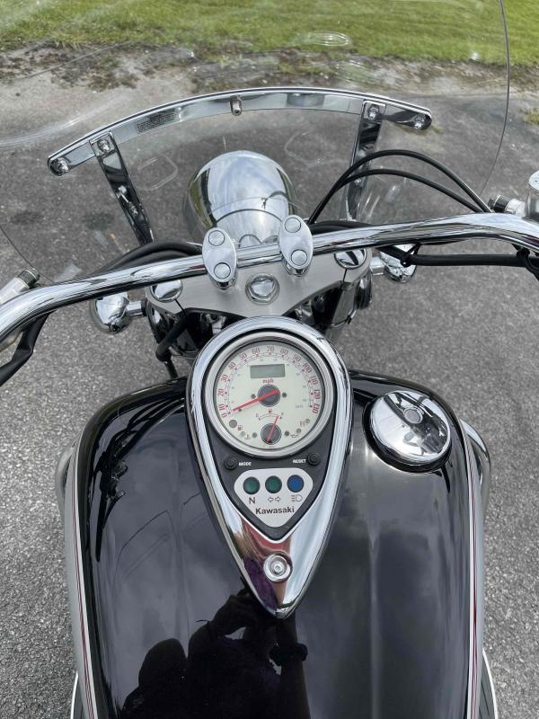2005 Kawasaki Vulcan 1500 Motorcycle