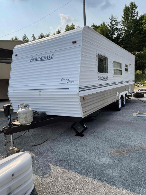 2003 Keystone RV Springdale Clearwater Edition 245FBLC Travel Trailer RV