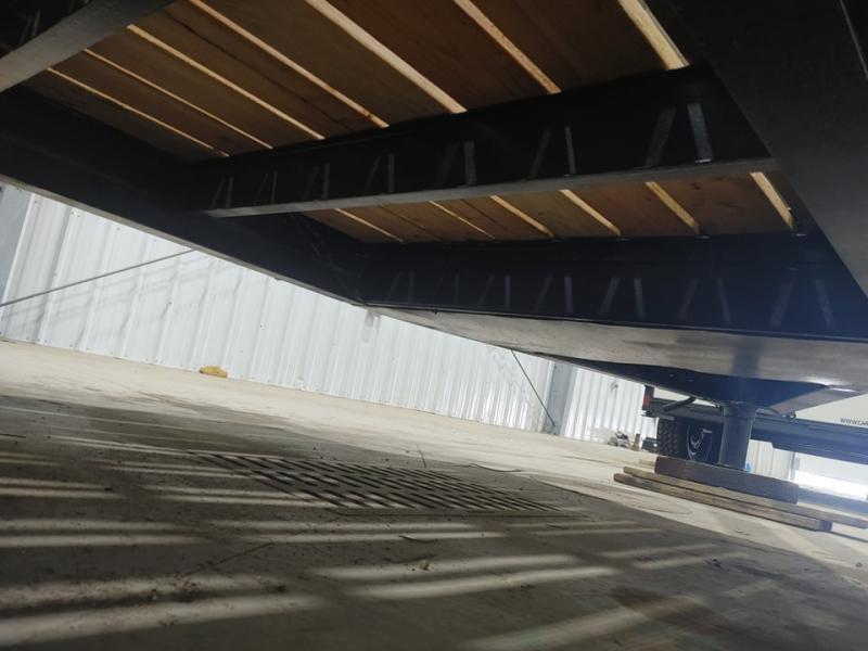 24' 12 Ton Pintle tow Flatbed Trailer