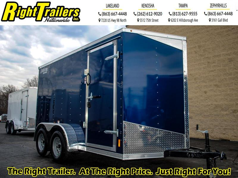 7X12 RC Trailers I 7K Tandem Axle Enclosed Cargo Trailer