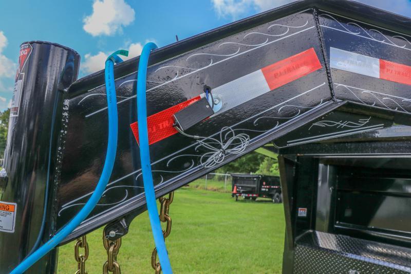 7X16X4 PJ Trailers HD Low-Pro Dump (DE) Dump Trailer