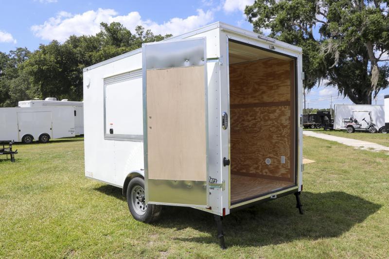 6X12 Continental Cargo I Concession Trailer