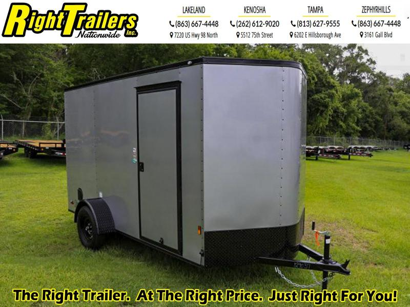 6X12 Continental Cargo I Enclosed Cargo Trailer W/ Blacked Out Package