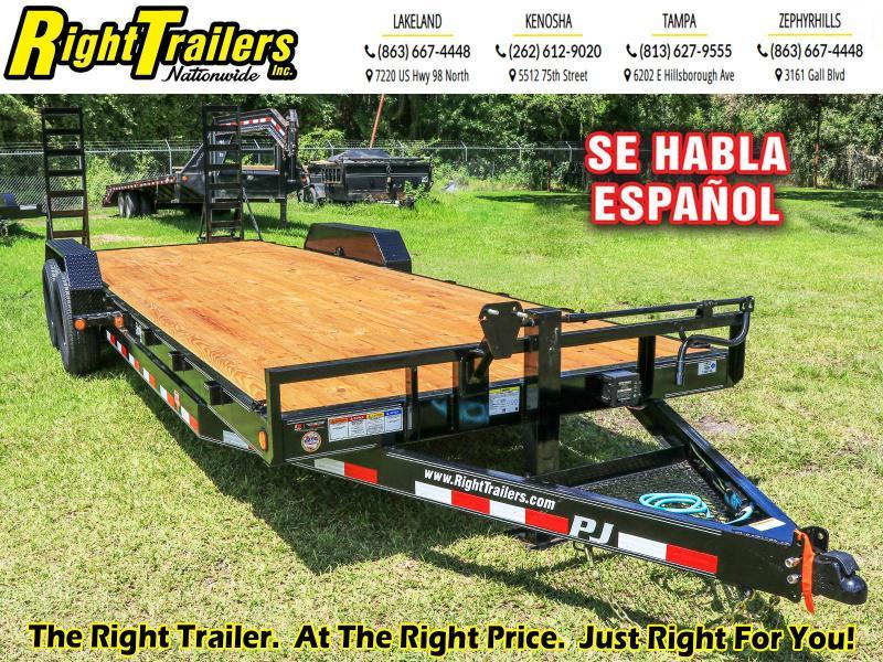 7X20 PJ Trailers 6 in. Channel Equipment (CC) Car / Racing Trailer