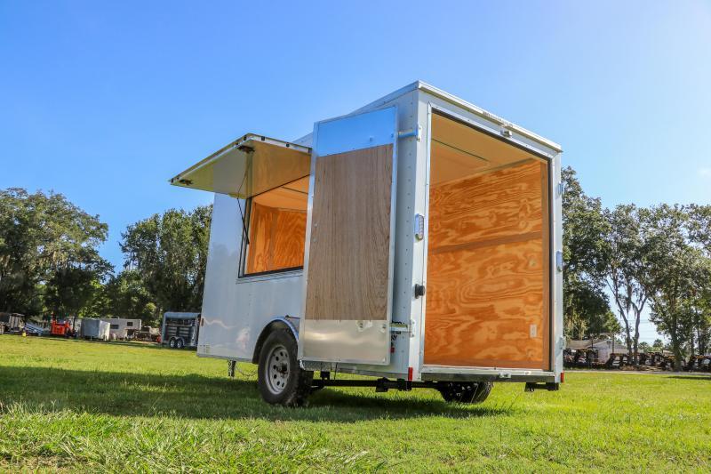 6X12 CONCESSION Continental Cargo I Enclosed Cargo Trailer