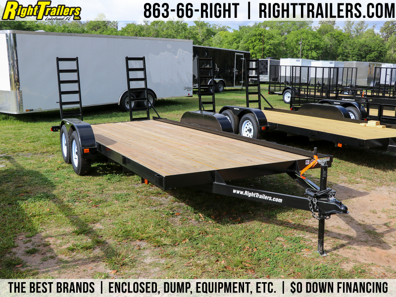 7X18 Red Hot Utility Trailer