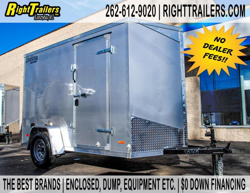 6x10 RC Trailers RDLX Enclosed Cargo Trailer