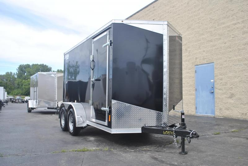 6X12 RC RDLX ENCLOSED TRAILER
