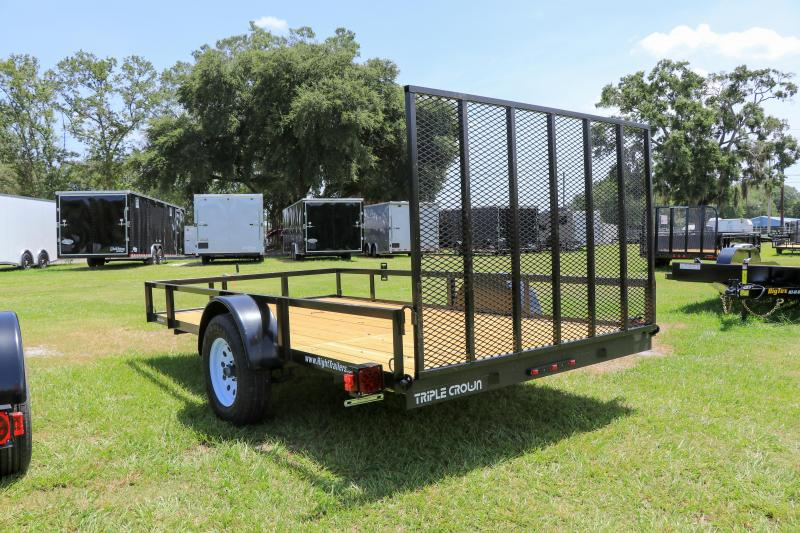 6X12 Red Hot Utility Trailer