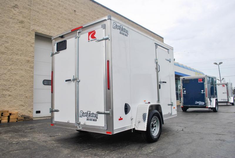 6X10 RC RDLX ENCLOSED CARGO TRAILER