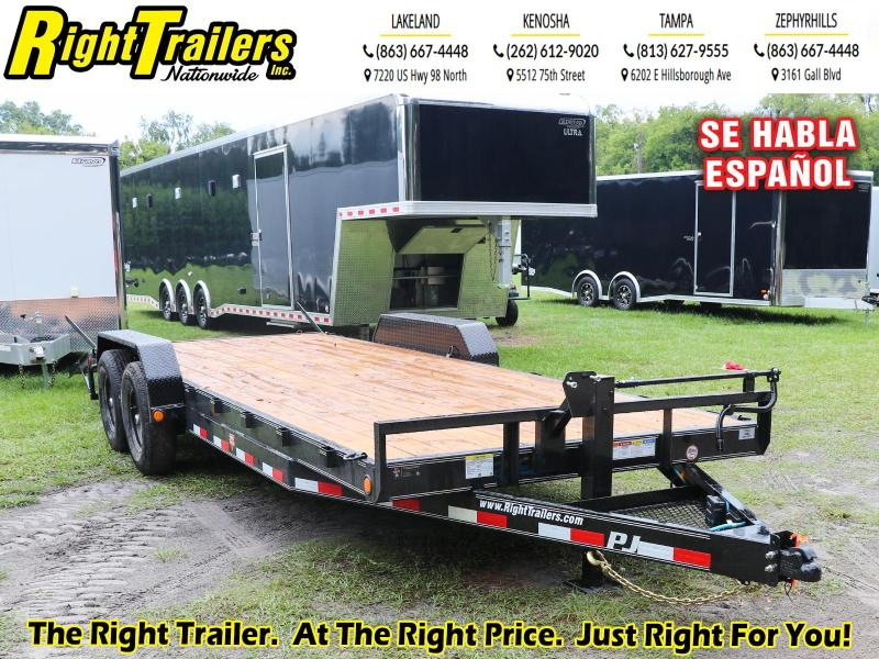 7X22 PJ Trailers 6 in. Channel Equipment (CC) Equipment Trailer