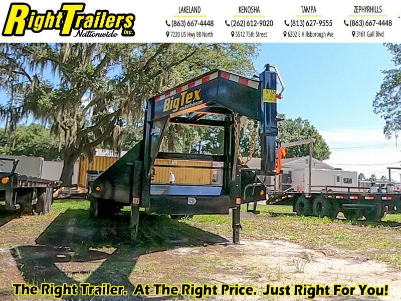 8.5X25 Big Tex Trailers I Equipment Trailer