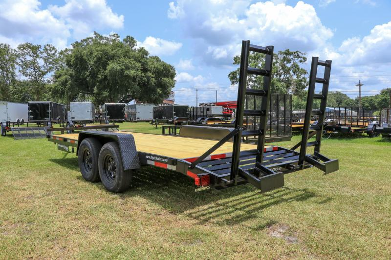 7X20 Red Hot Equipment Trailer